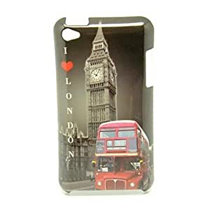 Buy London Bus Pattern Back Cover Hard Case for iPod Touch4