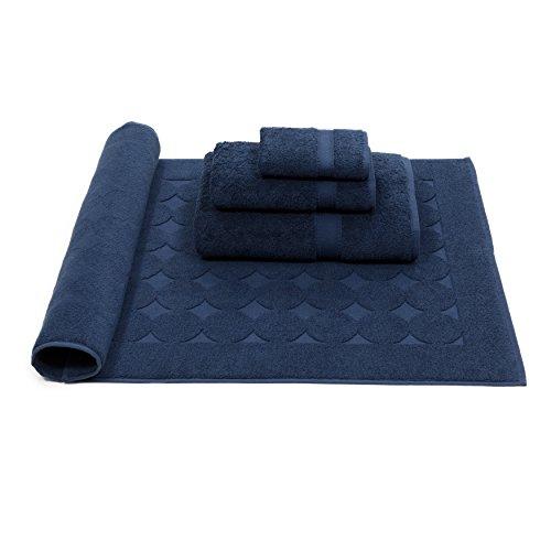Linum Home Textiles SN50-4CD Bath Towel, Navy by Linum Home Textiles