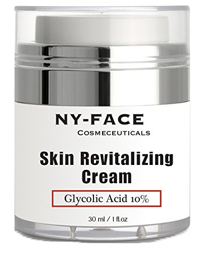 Sugar Cane New York - NY FACE's Glycolic Acid Cream - With 10% Glycolic Acid, 20% Naturally Exfoliates, Visibly Reduces Wrinkles