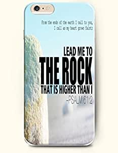 Iphone 5C Case,OOFIT Iphone 5C (4.7) Hard Case **NEW** Case with the Design of From the ends of the earth I call to you, I call as my heart grows faint; Lead me to the rock that is higher than I Psalm 61:2 - Case for iPhone Iphone 5C (4.7) (2014) Verizon, AT&T Sprint, T-mobile Kimberly Kurzendoerfer