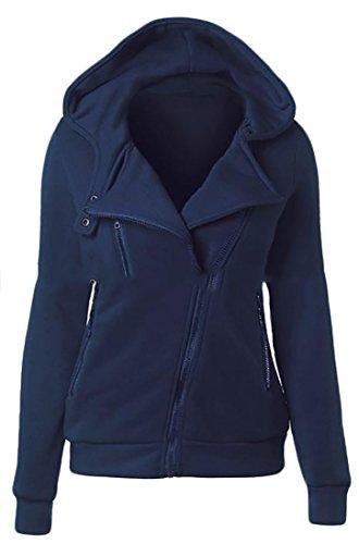4 Womens Full Zip Sweatshirt - 2