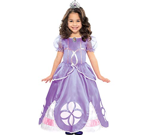 Amscan Sofia the First Halloween Costume for Girls, Small, with Included Accessories