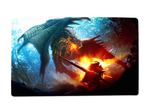 A Wide Variety of Monster Hunter MH Game Characters Desk & Mouse Pad Table Play Mat (Rathian 1)