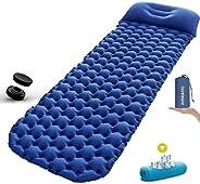 Sleeping Pad Ultralight Camping Mattress 6.56Ft Lightweight Air Sleeping Mat Portable Comfortable Inflatable O