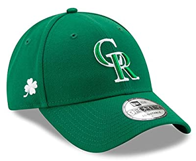 New Era Colorado Rockies 9Forty MLB The League St. Patrick's Day Adjustable Hat