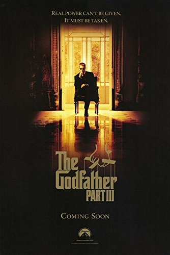 (THE GODFATHER: PART III (1990) Original Authentic Movie Poster - 27x41 One Sheet - Double-Sided - FOLDED - Al Pacino - Diane Keaton - Andy Garcia - Talia Shire)