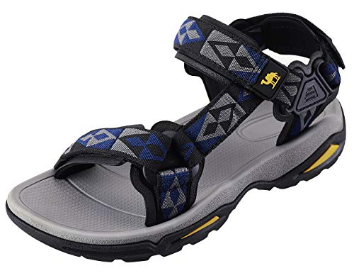 CAMEL CROWN Mens Hiking Sandals Waterproof with Arch Support Open Toe Summer Outdoor Comfort Beach Water Sport Sandals (Best Of Camel Toes)