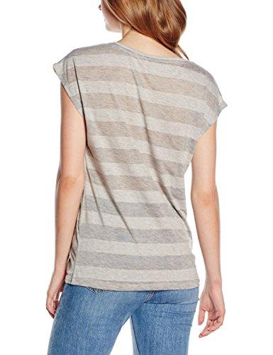 Only, Camiseta para Mujer gris (Light Grey Melange)