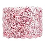 Rose Garden Drum Lamp Shade Color: Pink