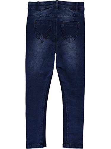 NAME Nittove Dnm Niñas Slim Skinny IT Jeans Pant Denim Azul Dark Nmt rFqrw15