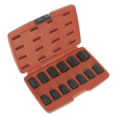 Sealey Impact Socket Set 13pc 1/2'Sq Drive Metric AK5613M