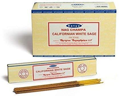 Incienso Satya, 12 cajas, 180 g