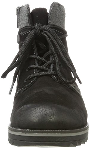 36 Bottes Noir Femme Remonte EU R2285 Chukka nSa460q