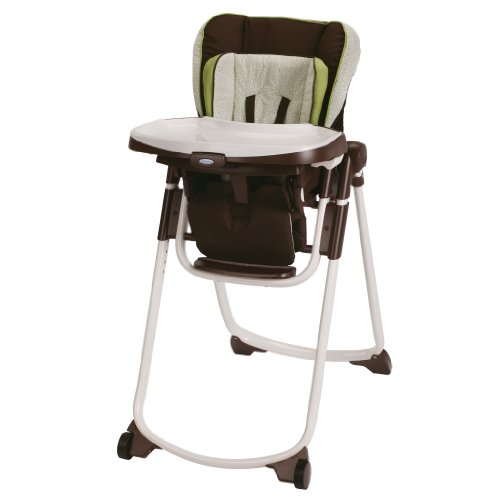 Graco Slim Spaces Highchair, Go Green