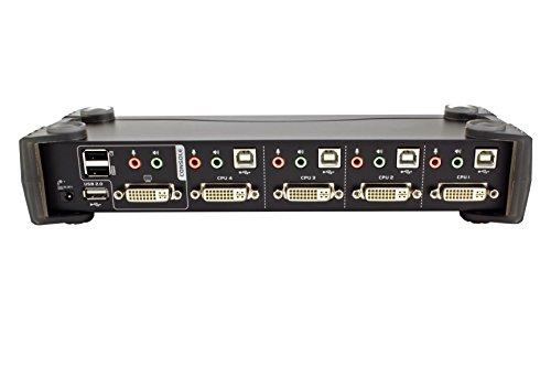 ATEN 4-Port USB 2.0 DVI KVMP Switch (CS1764A) by ATEN (Image #4)