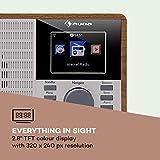 auna IR-160 Internet Radio - Radio Alarm, Digital