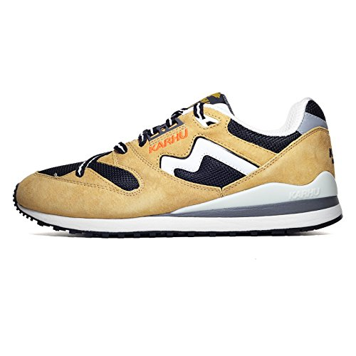 Karhu Men Synchron Classic - Outdoor Summer Pack tan marzipan jet black Size 9.5 US by Karhu