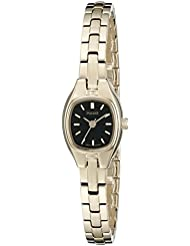 Pulsar Womens PPH552 Dress Analog Display Japanese Quartz Gold Watch