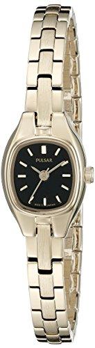 Pulsar Women's PPH552 Dress Analog Display Japanese Quartz Gold (Pulsar Gold Wrist Watch)