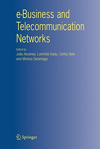 e-Business and Telecommunication Networks by Brand: Springer