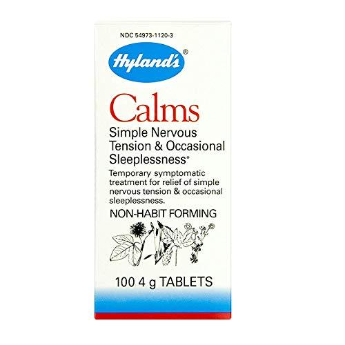 Hyland's Calms Nerve Tension Sleeplessness, 100-4 gr. Tablets