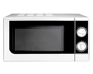 Mikrowelle 20 Liter Auftaufunktion Mikrowellenherd Microwelle Microwave 700...