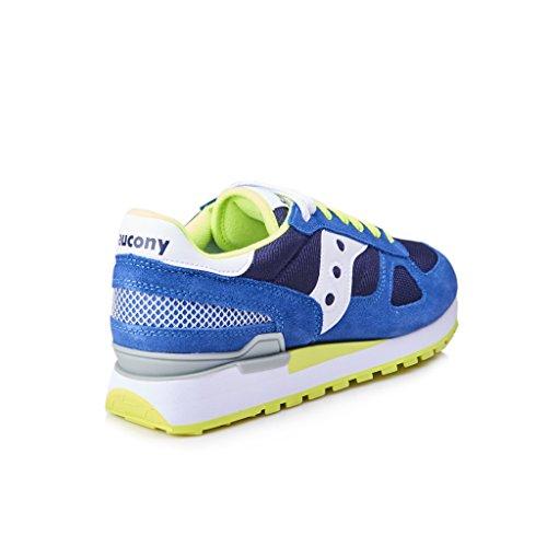 Sneaker Saucony Shadow en suede azul royal Azul