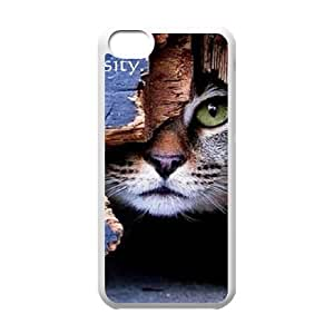 T-TGL(RQ) Print your own photo phone Case for Iphone 5C cheap Cat case