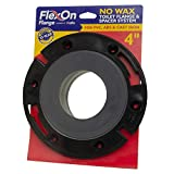 """Flexon Toilet Flange for 4"""" PVC, ABS, Cast Iron"""