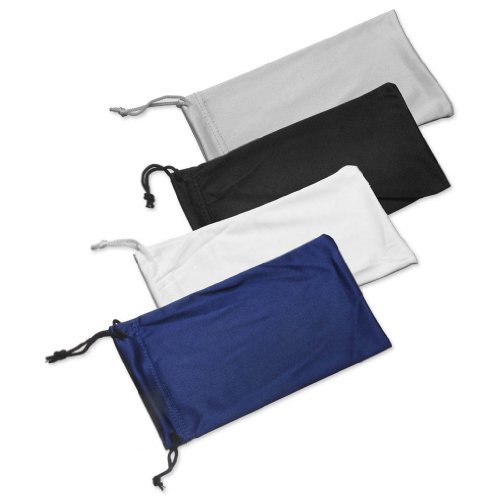 4X High Quality Microfiber Sunglasses Glasses Gadgets Cleaning & Storage - Pouch Microfiber