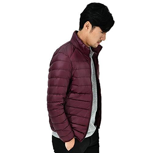 Warm Coats Collar Stand Zipper Solid Windproof Mens Fit vpass Softshell Cardigan Lightweight Outwear Winter Slim Fleece Jacket Overcoat Down 1EURnpxwq