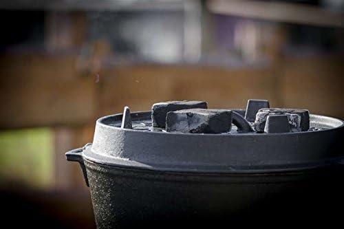 Kokos Brikettes Cabix f Dutch Oven u Gillbriketts BBQ Petromax 3kg