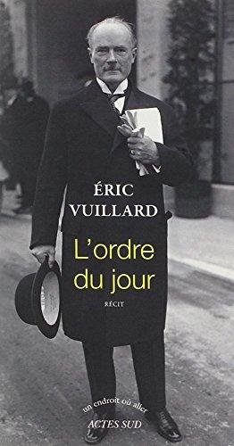 L'ordre du jour (French Edition)