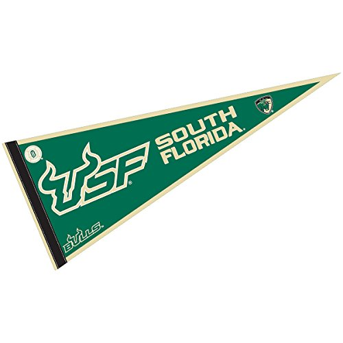 - College Flags and Banners Co. USF Bulls Pennant Full Size Felt