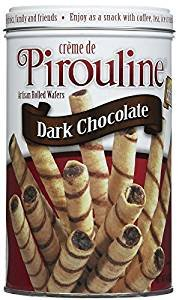 PIrouline Creme Filled Wafers Dark Chocolate 14.1 Oz. Pack Of 3. by Pirouline