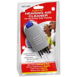 how to clean a hearing aid video