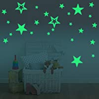 Amaonm® Glow In The Dark Stars Wall Decals Removable...