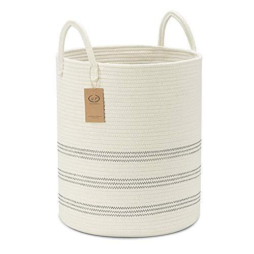 Extra Large Cotton Rope Basket, 16