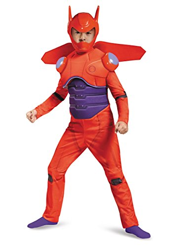 [Red Baymax Deluxe Costume, Large (10-12)] (Tenth Doctor Dress)