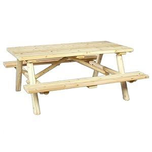 Cedarlooks 0200021 Log Picnic Table