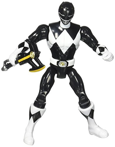 Original Mighty Morphin Power Rangers ZACH BLACK RANGER 8