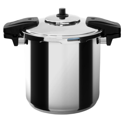 MIU France Stainless Steel Professional 8-Qt. Pressure Cooker, - Miu Outlet Miu