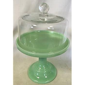 Plain \u0026 Simple Bakery Cake Plate Stand with Cake Dome - Mosser Glass (9\   sc 1 st  Amazon.com & Amazon.com   Plain \u0026 Simple Bakery Cake Plate Stand with Cake Dome ...