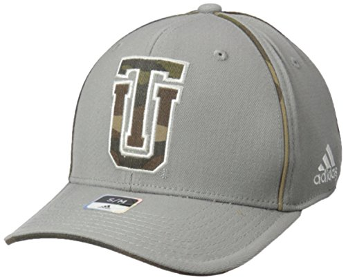 Fit Cap Flex Camo (NCAA Tulsa Golden Hurricane Men's Hint of Camo Flex Fit Cap, Large/X-Large, Grey)