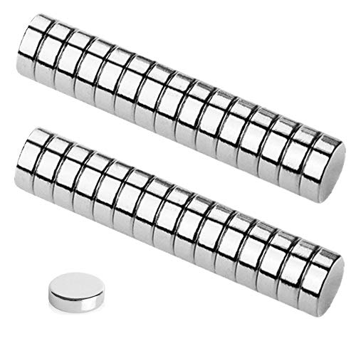 - Refrigerator Magnets, 30PCS 10×3MM Small Round Cylinder Fridge Magnets, Office Magnets, Whiteboard Magnets