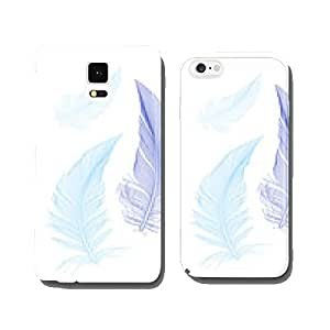 blue birds feathers, vector cell phone cover case iPhone5