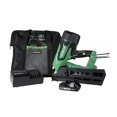 Hitachi NR1890DR 3-1/2 in. 18V Brushless Full Round Head Framing Nail Gun (Renewed)