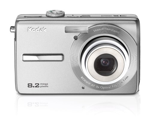- Kodak Easyshare M863 8.2 MP Digital Camera with 3xOptical Zoom (Silver)