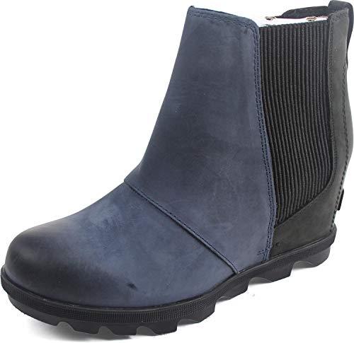 Sorel - Women's Joan of Arctic Wedge Ii Chelsea Non Shell Boot, Size: 7.5 B(M) US, Color: Collegiate Navy ()