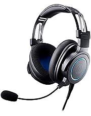 Audio-Technica ATH-G1 Premium - Auriculares con micrófono Desmontable, Conector TRRS de 3,5 mm